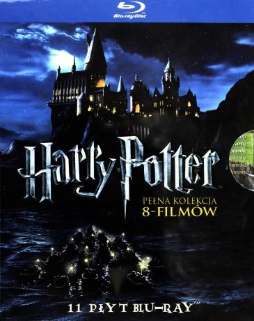 Harry Potter Pełna Kolekcja: Kamień Filozoficzny / Komnata Tajemnic / Więzień Azkabanu / Czara Ognia / Zakon Feniksa / Książę Półkrwi / Insygnia śmierci 1 / Insygnia śmierci 2