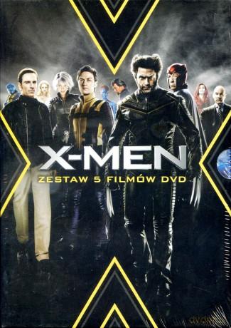 X-Men Kolekcja: X-Men / X-Men 2 / X-Men: Ostatni bastion / X-Men Geneza: Wolverine / X-Men: Pierwsza klasa