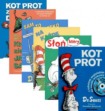 Dr Seuss Kolekcja Kot Prot Znów Gotów Kto Zje Zielone Jajka Na