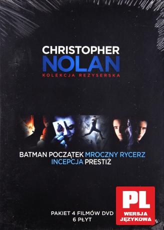 Christopher Nolan Kolekcja Reżyserska: Batman - Początek / Batman: Mroczny rycerz / Prestiż / Incepcja