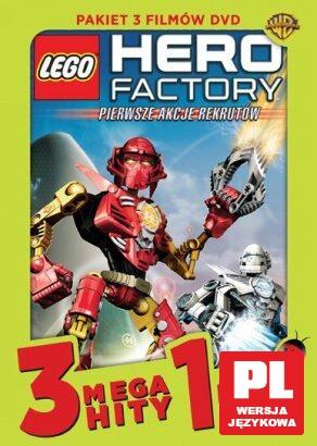Megahit Kids Kolekcja 6 Lego Hero Factory Pierwsze Akcje Rekrutów