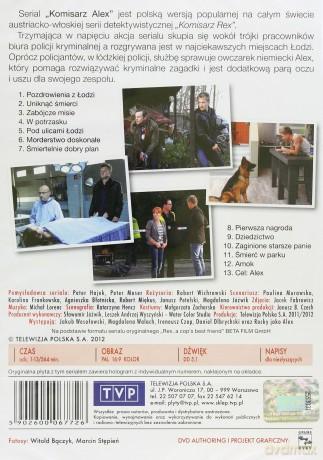 DVD Komisarz Alex [4DVD]