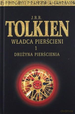 Władca Pierścieni Trylogia Tom 1 3 Twarda Jrr Tolkien