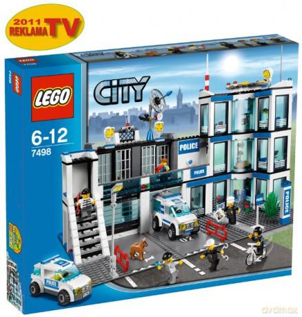 Lego City Posterunek Policji 7498 Klocki Dvdmaxpl