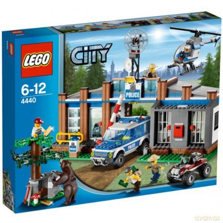 Lego City Leśny Posterunek Policji 4440 Klocki Dvdmaxpl
