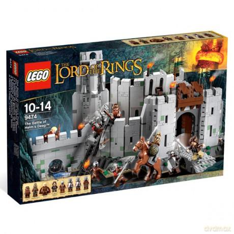 Lego Władca Pierścieni Bitwa O Helmowy Jar 9474 Klocki Dvdmaxpl