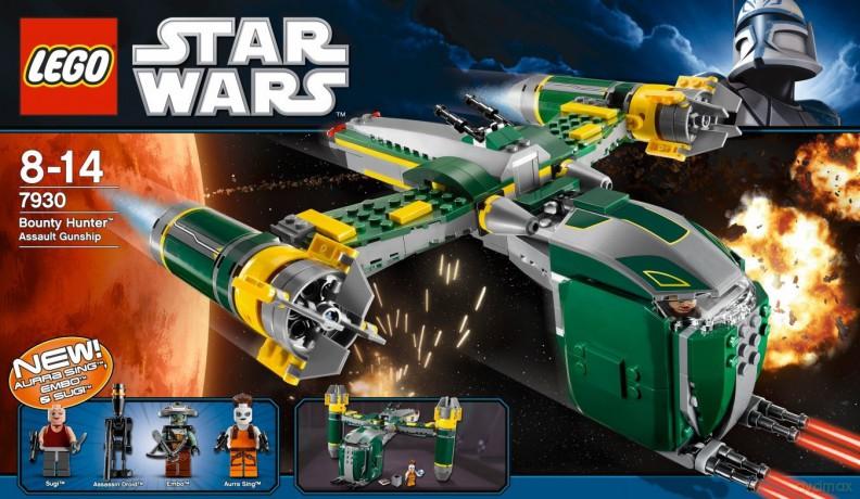 LEGO 389 Gwiezdne Wojny - Bounty hunter 7930 (Star Wars)