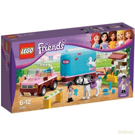 Lego 218 Friends Przyczepa Dla Konia Emmy 3186 Klocki Dvdmaxpl