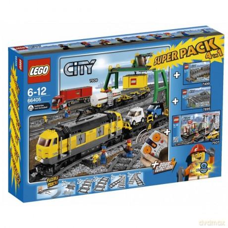 Lego City Pociąg Towarowy 66405 Klocki Dvdmaxpl