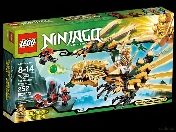 Lego Ninjago Złoty Smok 70503 Klocki Dvdmaxpl