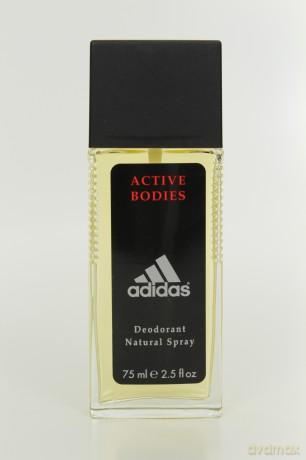 Adidas Active Bodies Dezodorant Naturalny w Spray'u dla Mężczyzny 75ml