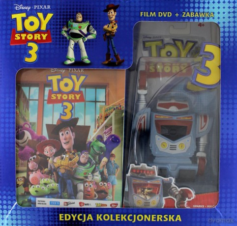 Toy Story 3 + Sparks (Robot) (Disney)