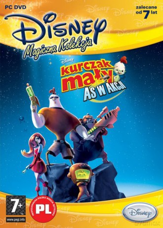 Disney Magiczna Kolekcja: Kurczak Mały: As w akcji!
