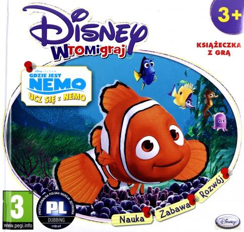 Disney wtomigraj: Gdzie jest Nemo: Ucz sie z Nemo (booklet)