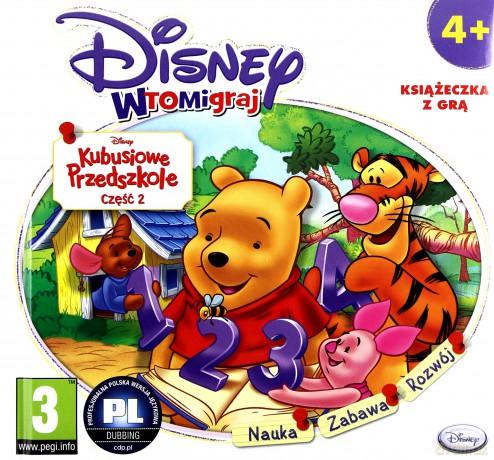 Disney wtomigraj: Kubusiowe Przedszkole - Sredniaki (booklet)