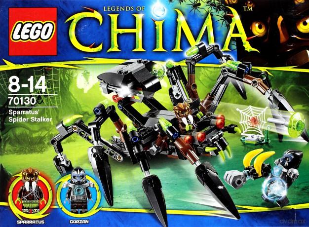 LEGO Chima - Pajęczy ścigacz Sparratusa 70130