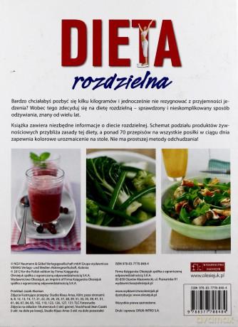 Dieta Rozdzielna 2012 Ksiazka Dvdmax Pl