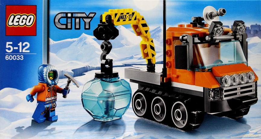 Lego 60033 City Arctic Arktyczny łazik Lodowy Klocki Dvdmaxpl