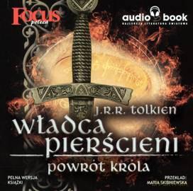 Władca Pierścieni Powrót Króla Jrr Tolkien Cd Audiobook