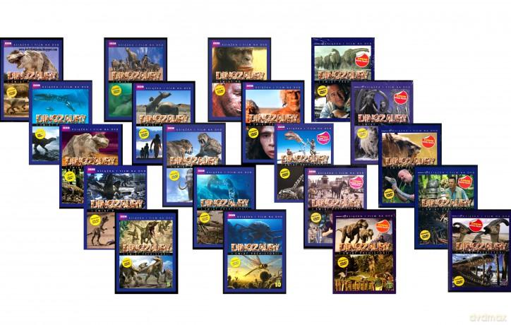 Dinozaury i świat prehistorii (booklet) PAKIET