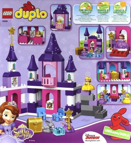 Lego Duplo Królewski Zamek Sofia 10595 Klocki Dvdmaxpl