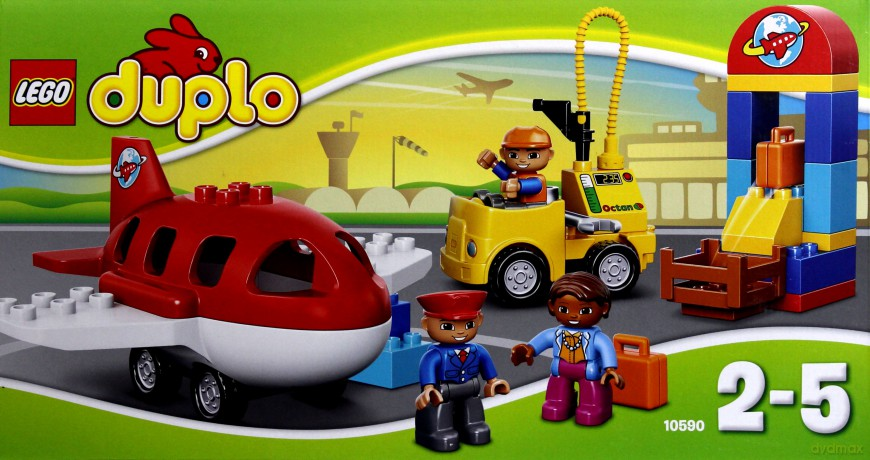 Lego Duplo Lotnisko 10590 Klocki Dvdmaxpl
