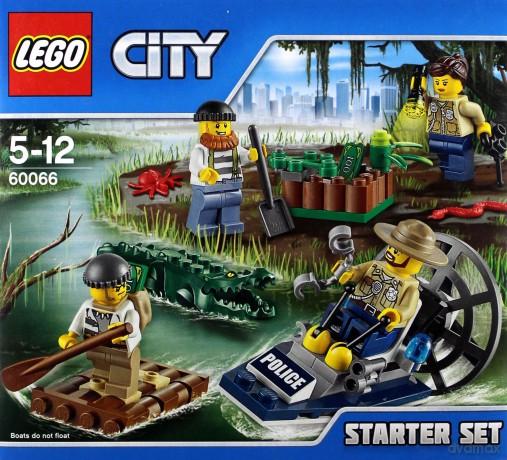 Lego City Policja Wodna Zestaw Startowy 60066 Klocki Dvdmaxpl