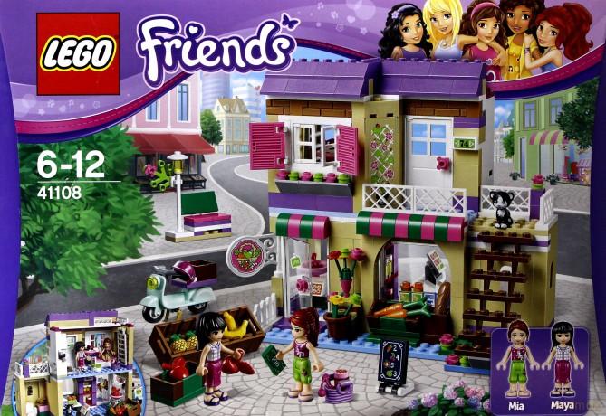 Lego Friends Targ Warzywny W Heartlake 41108 Klocki Dvdmaxpl