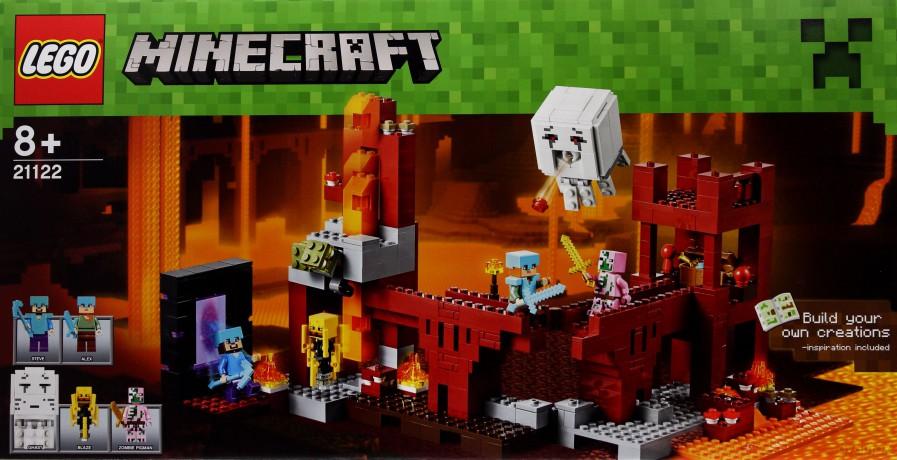 Lego Minecraft Wioska 21128 Zabawka Dvdmaxpl