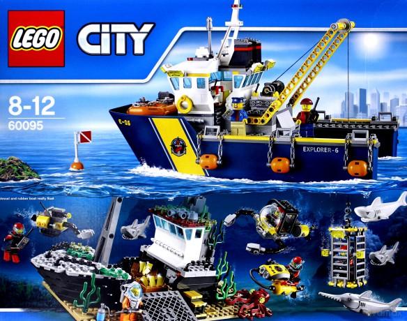 Lego City Statek Do Badań Głębinowych 60095 Klocki Dvdmaxpl