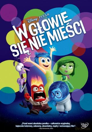 14f836a986748 «W Głowie Się Nie Mieści (Disney)» (2015) [DVD] Reżyser: Pete Docter •  DVDmax.pl