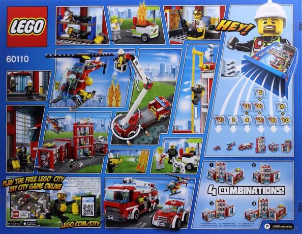Lego City Remiza Strażacka 60110 Klocki Dvdmaxpl