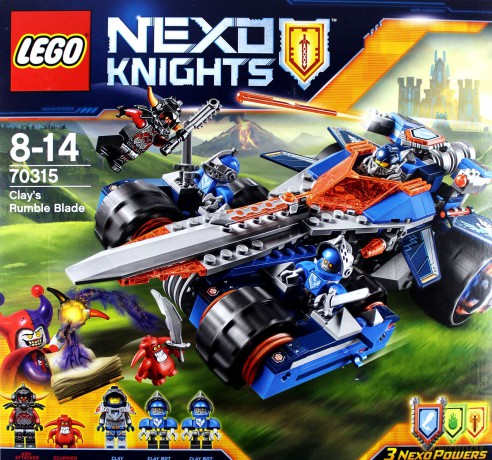 LEGO Nexo Knights Pojazd Claya (70315)