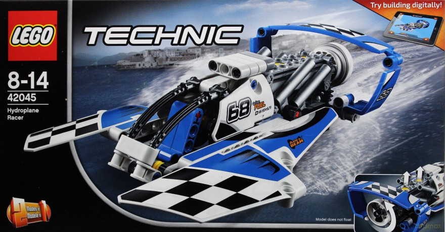 LEGO Technic Wyścigowy wodolot (42045)