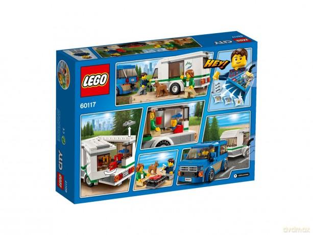 Lego City Van Z Przyczepą Kempingową 60117 Klocki Dvdmaxpl