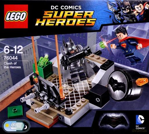LEGO Super Heroes Wyzwanie bohaterów (76044)