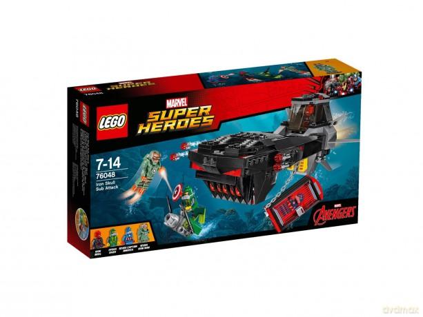LEGO Super Heroes Atak Żelaznej Czaszki (76048)