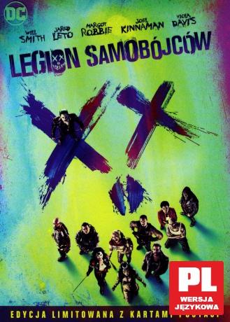 Legion samobójców (Wydanie Specjalne z kartami postaci)
