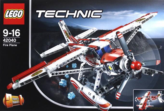 Lego Technic 42040 Samolot Strażacki Klocki Dvdmaxpl