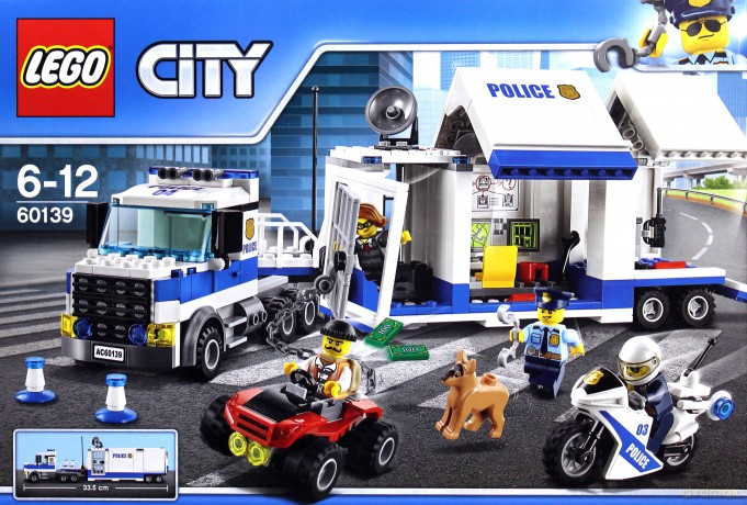 Lego City Mobilne Centrum Dowodzenia 60139 Klocki Dvdmaxpl