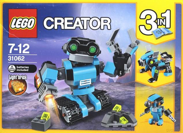 Lego Creator Robot Odkrywca 3w1 31062 Klocki Dvdmaxpl