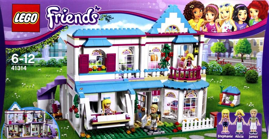 Lego Friends Dom Stephanie 41314 Klocki Dvdmaxpl
