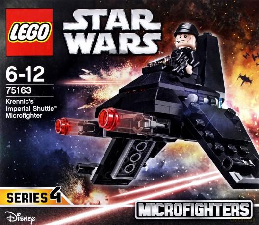 Lego STAR WARS Mikromyśliwiec Imperialny (Gwiezdne Wojny) (75163)