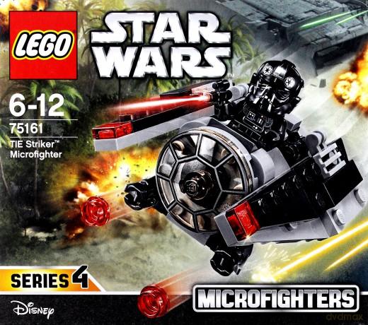 Lego STAR WARS Mikromyśliwiec TIE Striker (Gwiezdne Wojny) (75161)