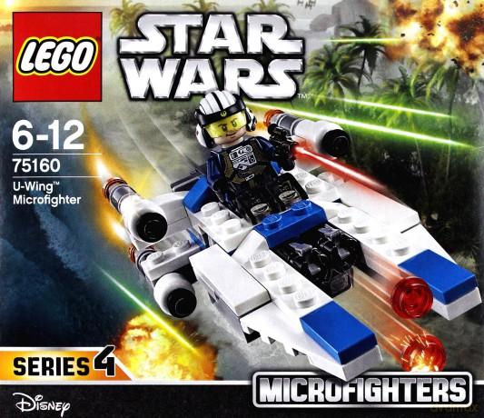 Lego STAR WARS Mikromyśliwiec U-Wing (Gwiezdne Wojny) (75160)