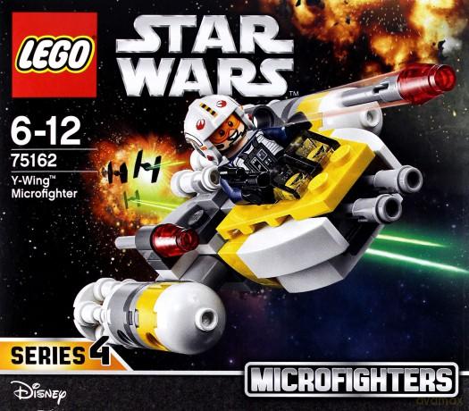 Lego STAR WARS Mikromyśliwiec Y-Wing (Gwiezdne Wojny) (75162)