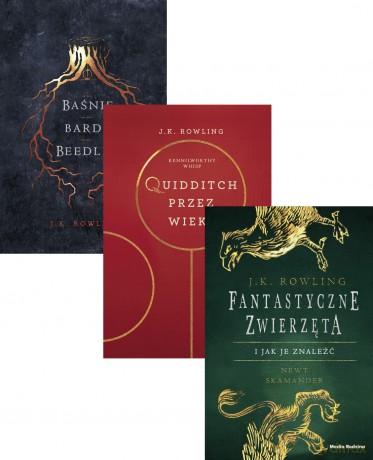 Baśnie Barda Beedle'a / Fantastyczne Zwierzęta / Quidditch przez wieki - J.K. Rowling (Twarda) Pakiet