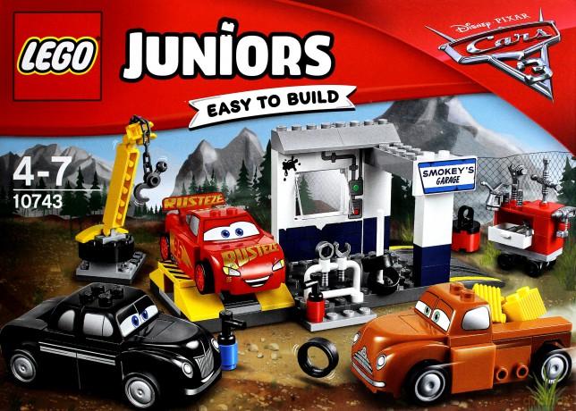 LEGO Juniors Auta 3 Warsztat Smokeyego (10743) (Disney)