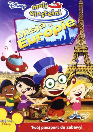 Mali Einsteini: Misja w Europie (Disney)