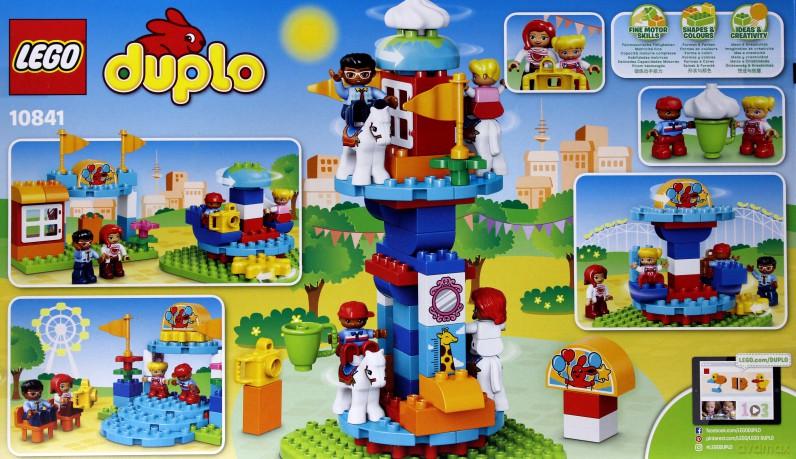 Lego Duplo Wesołe Miasteczko 10841 Klocki Dvdmaxpl
